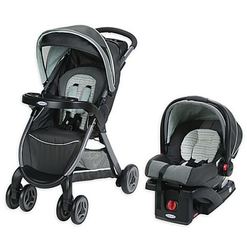 Graco FastAction Fold Click Connect Travel System in Bennett