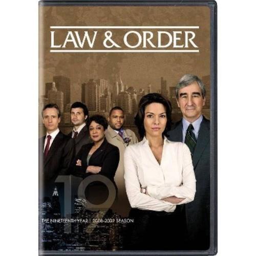 Law & order:Nineteenth year (DVD)
