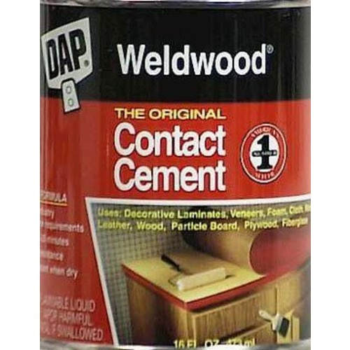 Dap 00271 Weldwood Original Contact Cement, 1-Pint [1]