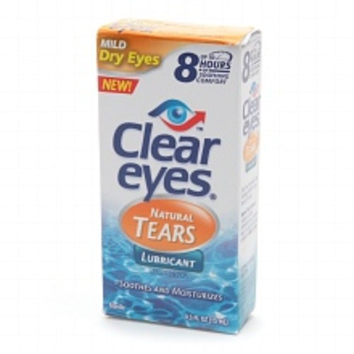 Clear eyes Natural Tears Lubricant