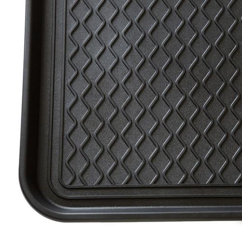 Stalwart 30 x 15-inch Black Eco Friendly Utility Boot Tray Mat