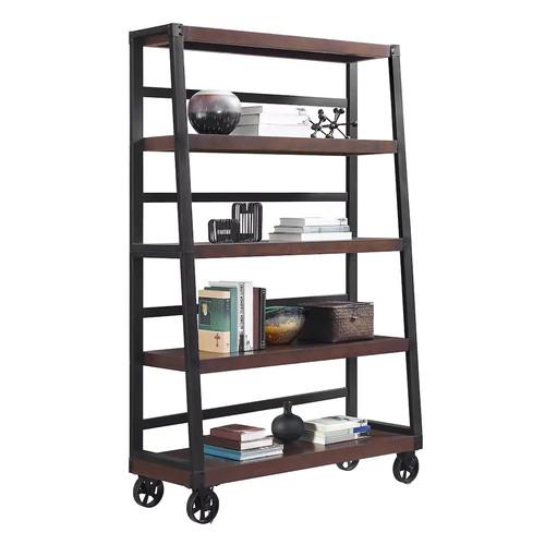 Altra Wade Wheeled Ladder Bookcase