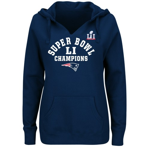 NFL New England Patriots Super Bowl LI Champions Women's Hoodie