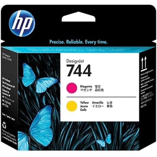 HP 744 Magenta & Yellow DesignJet Printhead