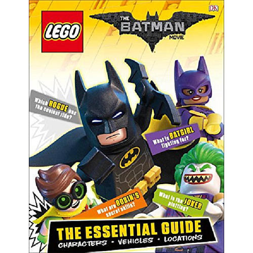 LEGO The Batman Movie: The Essential Guide Hardcover Book