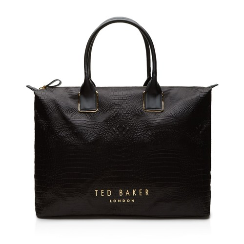 TED BAKER Tori Embossed Large Tote