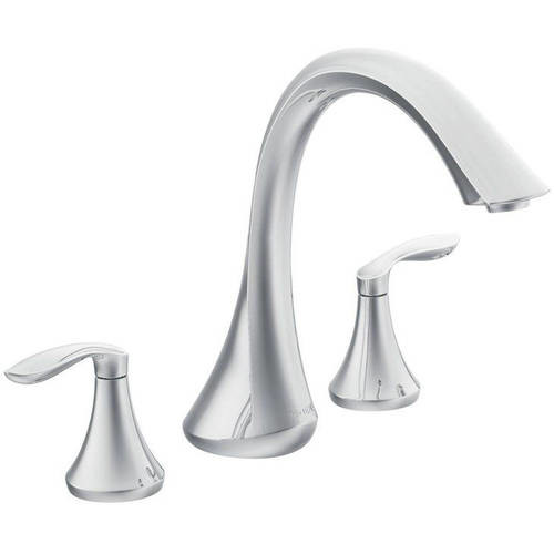 Moen T943ORB Eva Deck Mounted Tub Filler, Available in Various Colors