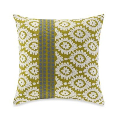 Harbor House Suzanna Square Throw Pillow in Moss