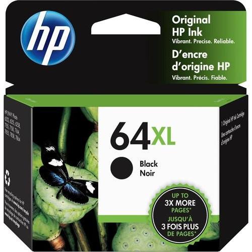 HP - 64XL High-Yield Ink Cartridge - Black