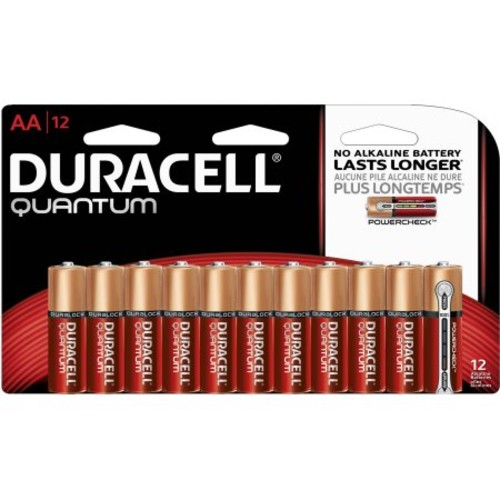 Duracell Quantum AA Size Battery - 12 Pack