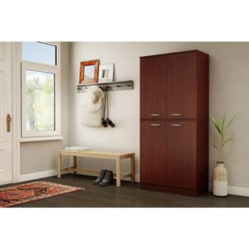 South Shore Axess Royal Cherry Storage Cabinet