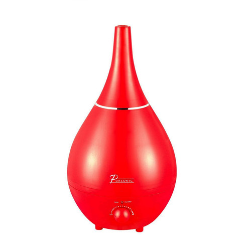 Pursonic 97096840M 3 Liter Ultrasonic Humidifier - Red