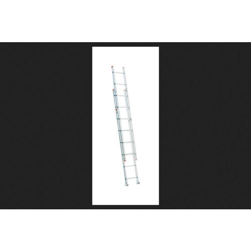 Werner Aluminum 16 ft. H Extension Ladder 200 lb. Type III