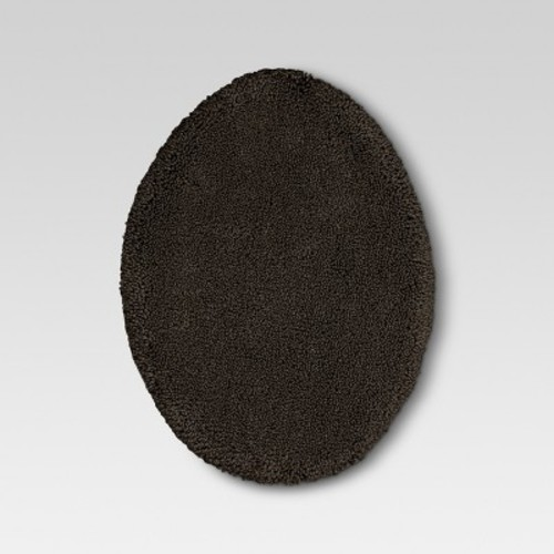 Performance Solid Toilet Lid Cover Squirrel Nut Brown - Threshold
