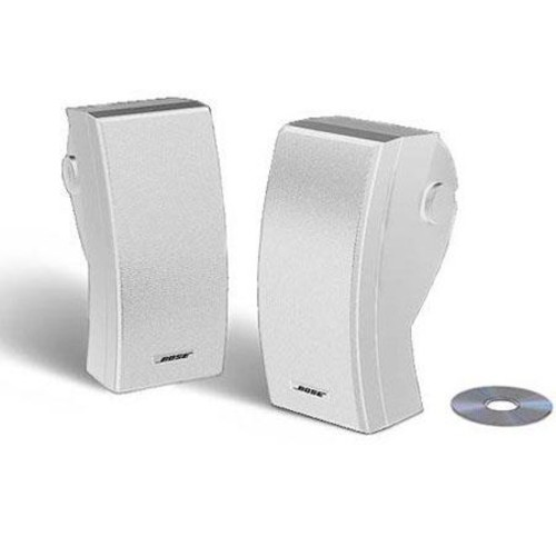 Bose 251 Outdoor Environmental Speakers, White 24644