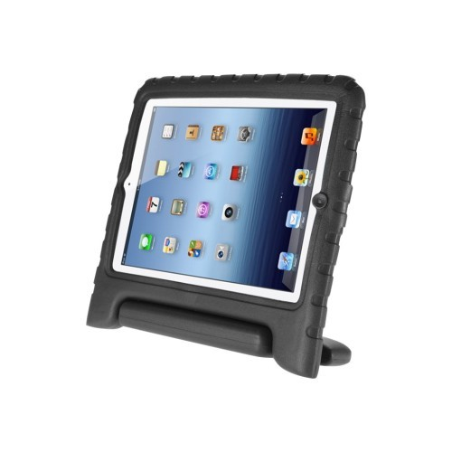i-Blason ArmorBox Kido - Back cover for tablet - polycarbonate - black - for Apple iPad (3rd generation); iPad 2; iPad with Retina display (4th generation) (IPAD3-KIDO-BLK)