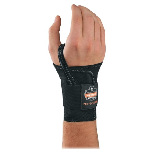 Ergodyne ProFlex 4000 Single Strap Wrist Support - Black
