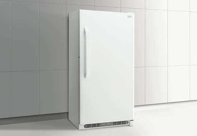 Frigidaire 20.2-Cu. Ft. Upright Freezer - White