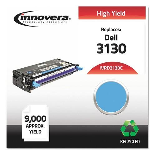 Dell Toner Cartridge, No. 3130, Cyan