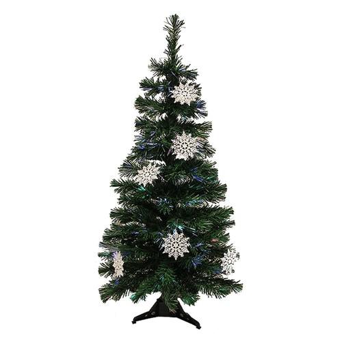 3-ft. Pre-Lit Fiber Optic Artificial Christmas Tree