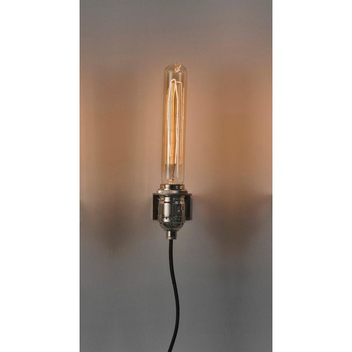 Nickel Plated Last Minute Wall Sconce