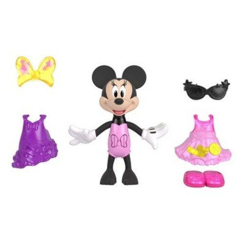 Fisher-Price Disney Minnie Mouse Snap N' Pose Minnie Doll
