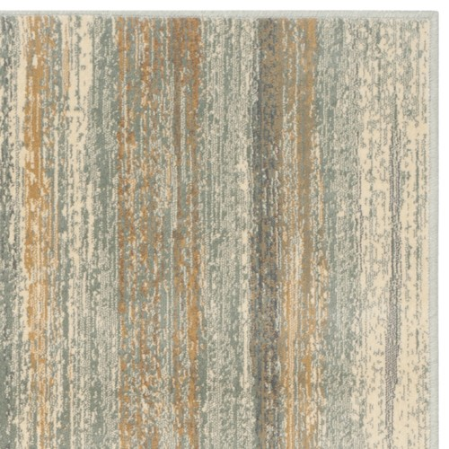 Safavieh Vintage Light Blue Abstract Distressed Silky Viscose Rug (2'7 x 4')