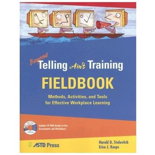 Beyond Telling Ain't Training Fieldbook (Paperback)