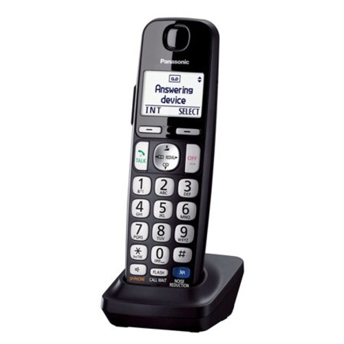 Panasonic KX-TGE236B DECT 6.0 Plus 1.9GHz 6 Handset Expandable Cordless Phone