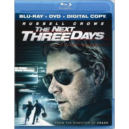 The Next Three Days (2 Discs) (Includes Digital Copy) (Blu-ray/DVD)