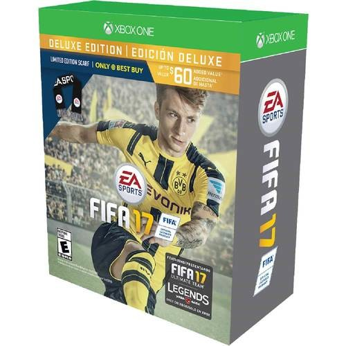 FIFA 17 Deluxe Edition Scarf Bundle - Xbox One