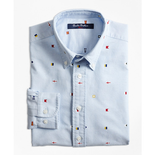 Oxford Nautical Sport Shirt