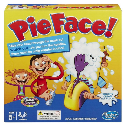 Hasbro Games & Puzzles Pie Face! Game