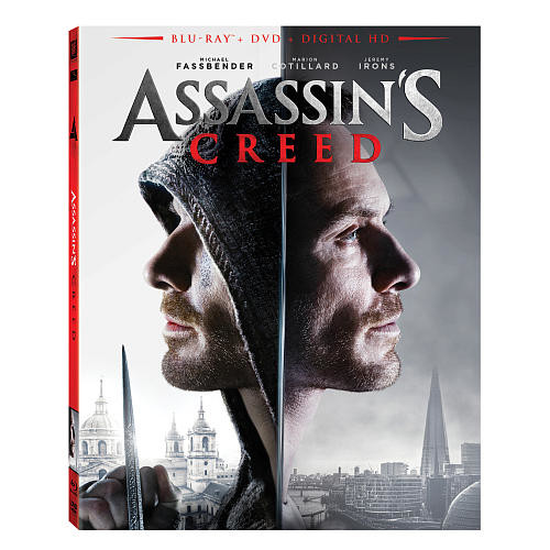 Assassin's Creed 2016 Blu-Ray Combo Pack (Blu-Ray/DVD/Digital HD)
