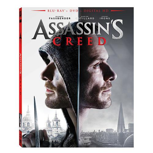 Assassin's Creed 2016 Blu-Ray Combo Pack (Blu-Ray/DVD/Digital HD)