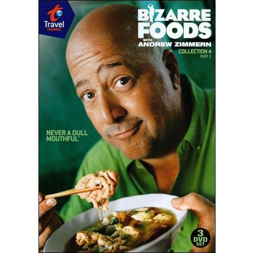 Bizarre Foods with Andrew Zimmern: Collection 4, Part 1 [3 Discs] [DVD]