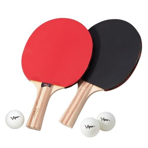 Viper Wood 2-racket Table Tennis Set