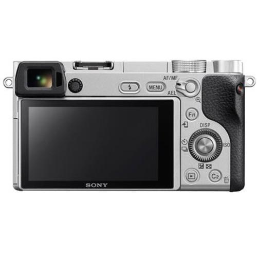 Sony Alpha a6300 Mirrorless Digital Camera Body, Silver