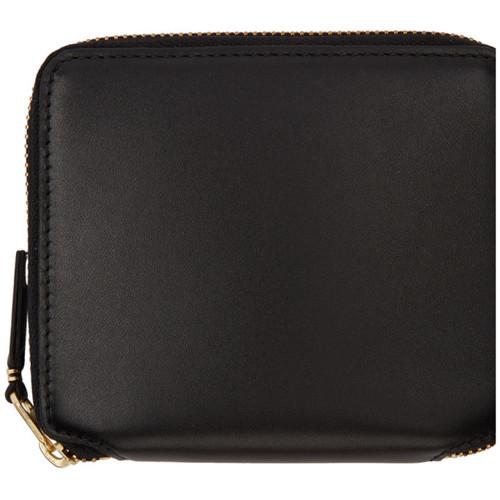 COMME DES GARÇONS WALLETS Black Classic Zip Wallet