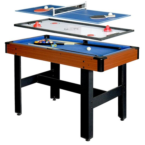 Hathaway Triad 4 ft. 3-in-1 Multi-Game Table