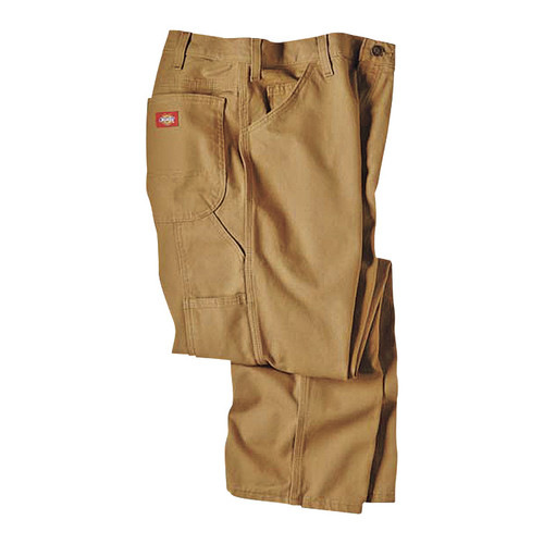 Dickies Men's 12-Oz. Duck Relaxed Fit Carpenter Pants - Timber, 38in. x 32in., Model# 1939RTB