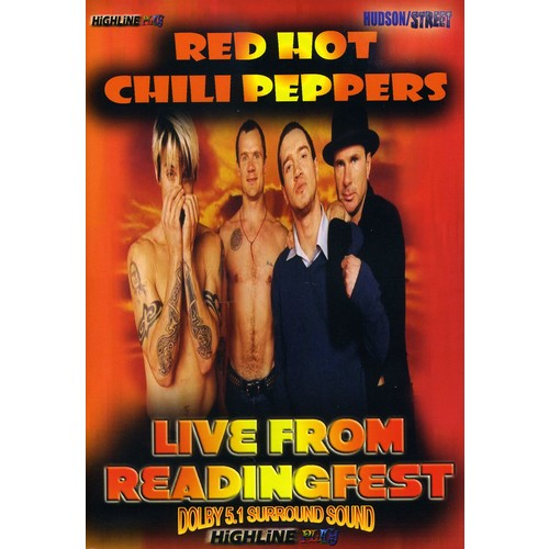 Red Hot Chili Peppers: Live from Glastonbury (DVD)