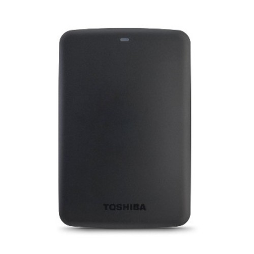 Toshiba Canvio Basics 1 Tb External Hard Drive - Usb 3.0 - 5400 Rpm - 8 Mb Buffer - Portable - Black (hdtb310xk3aa)