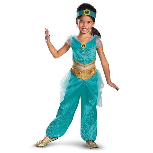 Disney Princess Jasmine Deluxe Sparkle Costume - Toddler/Kids