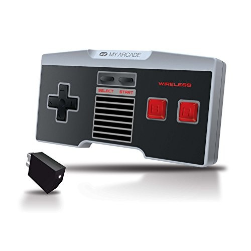 My Arcade GamePad Classic - Wireless Controller for the NES Classic Edition Gaming System [Wireless]