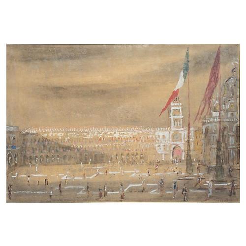 Piazza San Marco by Giorgio Valenzin
