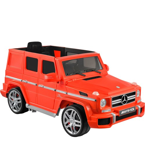 Kid Motorz Red Mercedes Benz G63 AMG One-Seat Ride-On