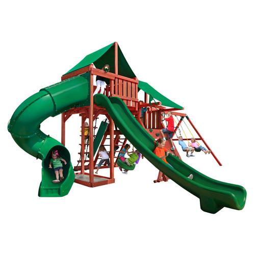 Gorilla Playsets Park Palace Swing Set