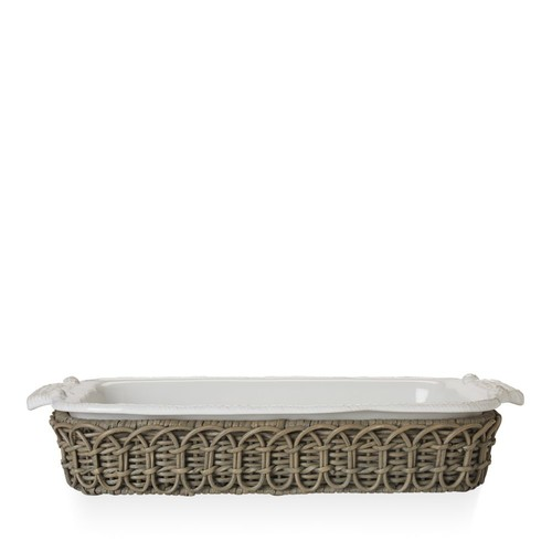 Waveney Wicker Rectangular Baker Holder