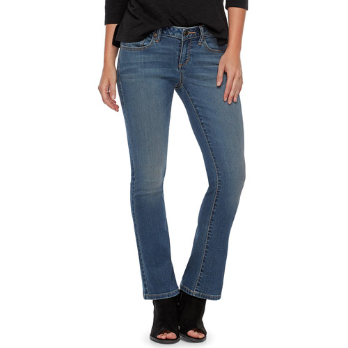 Petite SONOMA Goods for Life Slim Bootcut Jeans